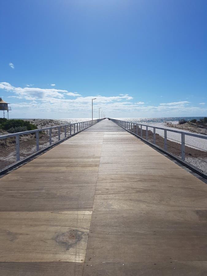 Australien-Reise-Strand-Ozean-Pier stockbilder