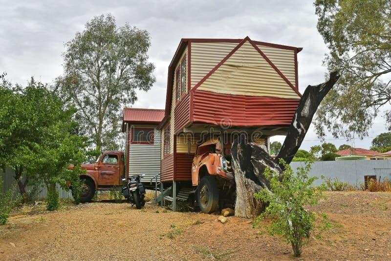 Australien, Süd-Australien, Melrose-Dorf stockbild
