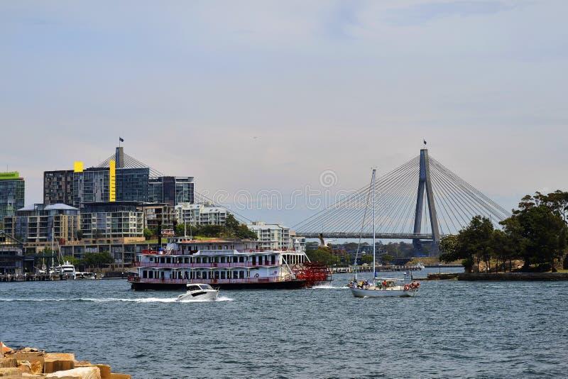 Australien Sydney, bubblafjärd arkivfoto
