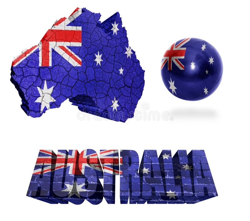 Australien-Symbole vektor abbildung