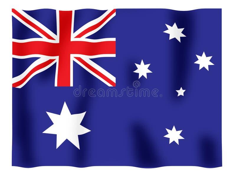 Australienflattern vektor abbildung