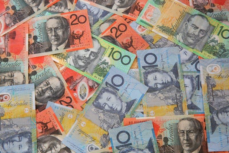 australiensisk valuta royaltyfri foto