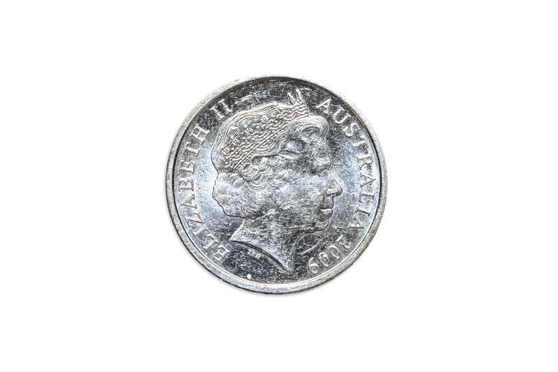 Australier fünf Cents lizenzfreies stockfoto