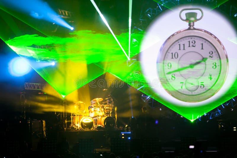 AustralierPink Floyd show royaltyfri bild