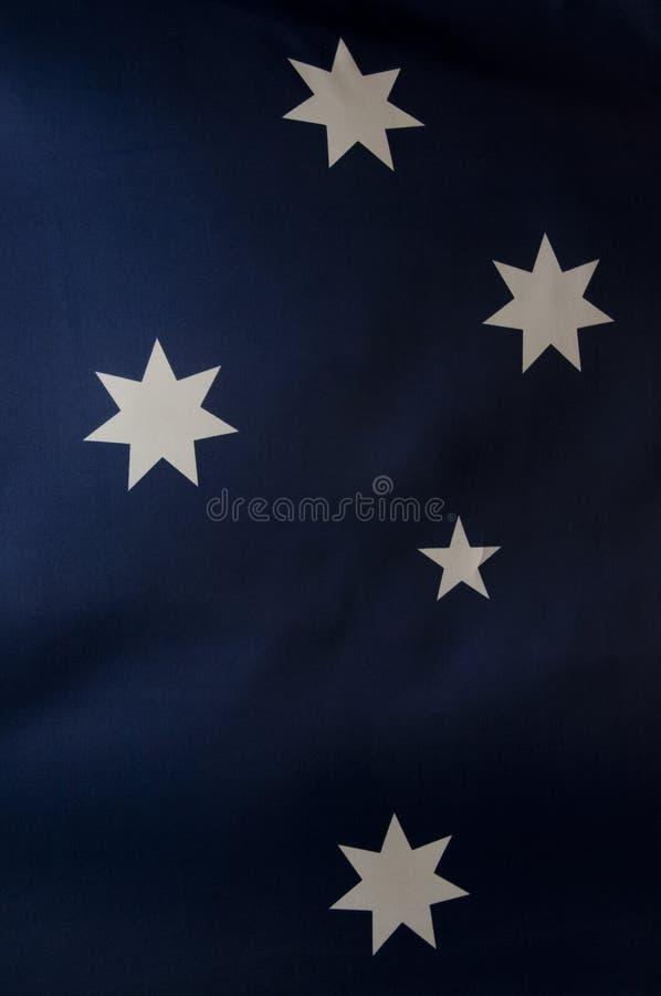 australijczyk chorągwiane serie zdjęcie stock