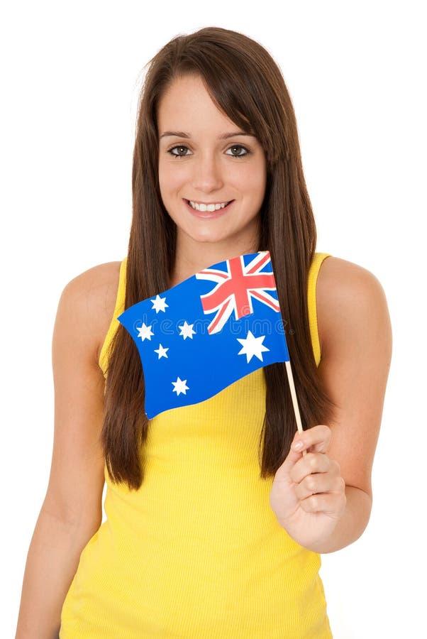 australijczyk flaga zdjęcie royalty free