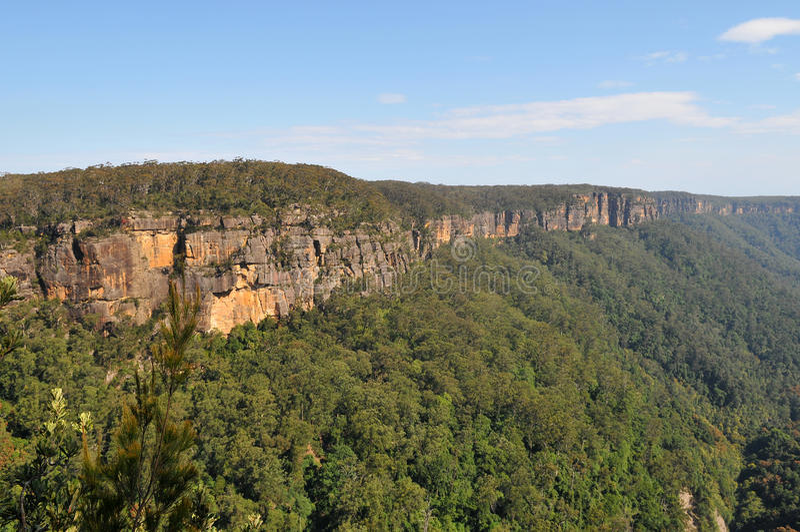 Australijczyk skały krajobraz fotografia stock