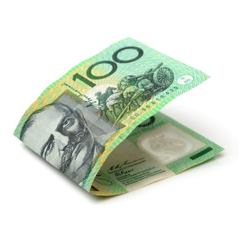 Australijczyk sto dolarów notatek zdjęcia stock
