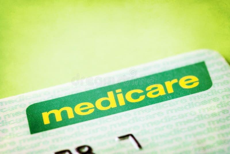 Australijczyka Medicare karta fotografia royalty free
