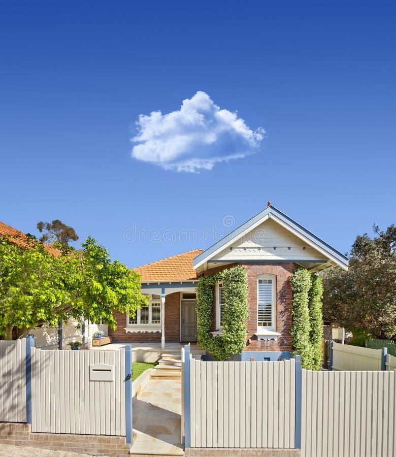 Australijczyka Niebo Domowy zdjęcie stock