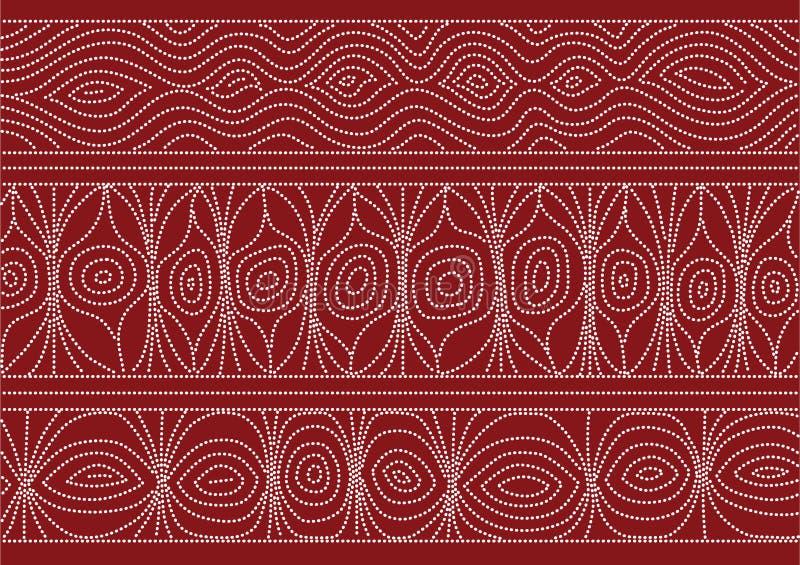 Australijczyka wzór royalty ilustracja