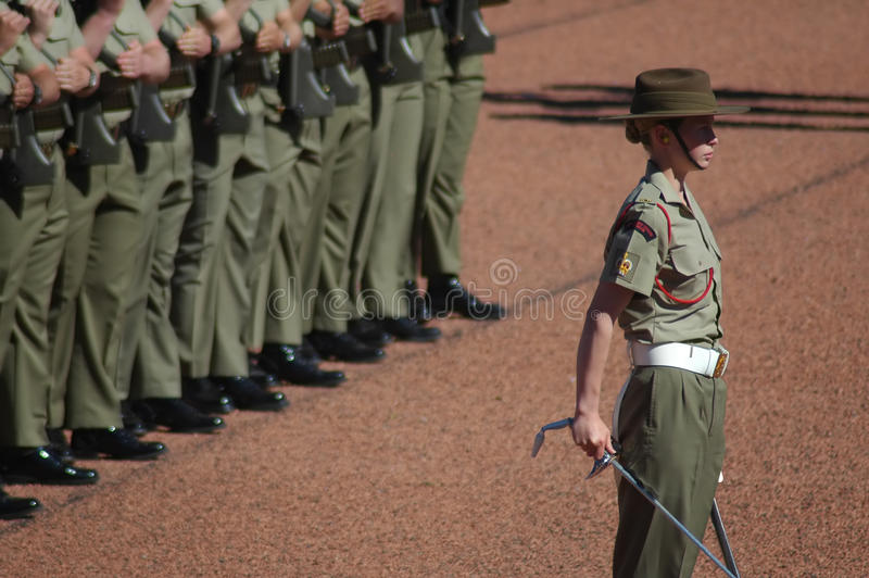 australijscy żołnierze obrazy stock