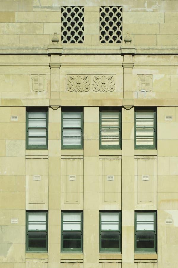 Australijscy budynków 1920s zdjęcie stock