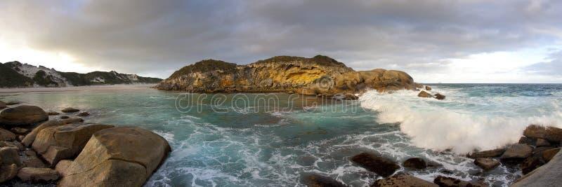australijska linia brzegowa zdjęcie stock