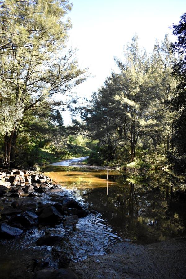 Australijska rzeka obraz stock