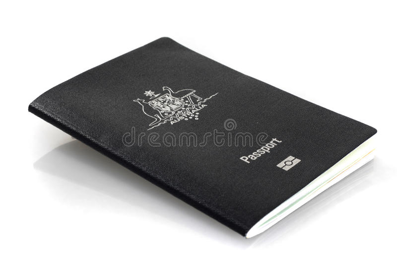 australijski aktualny paszport fotografia royalty free