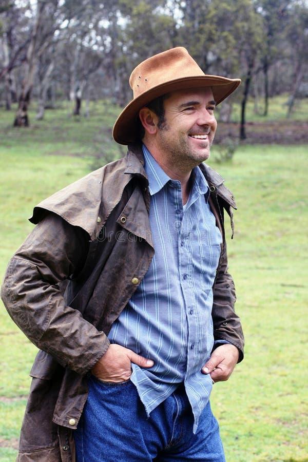 australijski buszmen obrazy stock