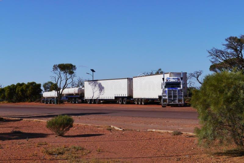 Australijski drogowy pociąg obrazy stock