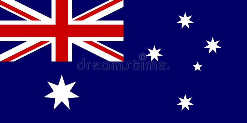australijski flagę ilustracji