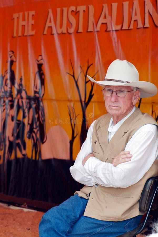australijski klasyczny mężczyzna zdjęcia stock