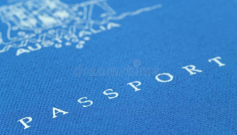 australijski paszport obrazy stock