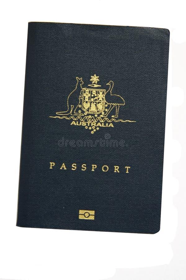 australijski paszportu fotografia royalty free