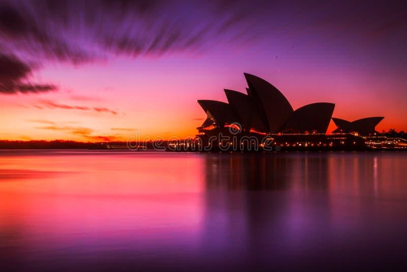 Australijski punktu zwrotnego budynek Sydney opera obrazy stock