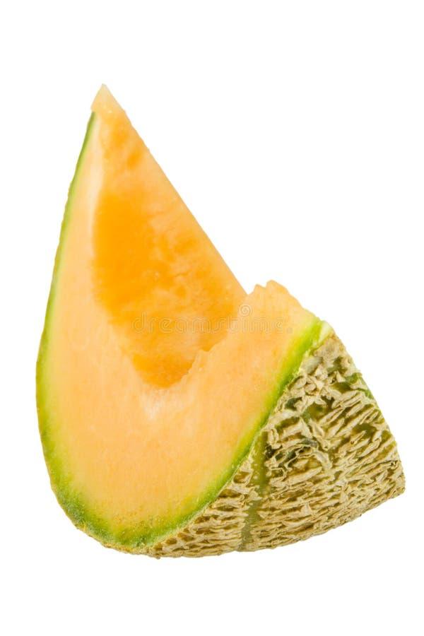 australijski rockmelon kawałek fotografia stock