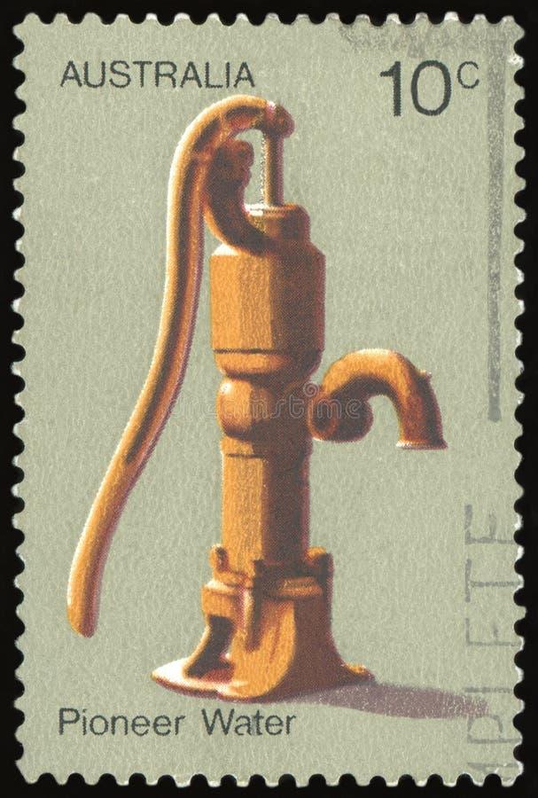 Australijski znaczek pocztowy zdjęcia stock