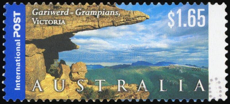 Australijski znaczek pocztowy obrazy stock