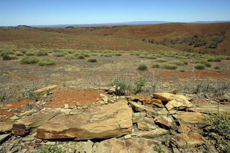 Australisch binnenland royalty-vrije stock afbeelding