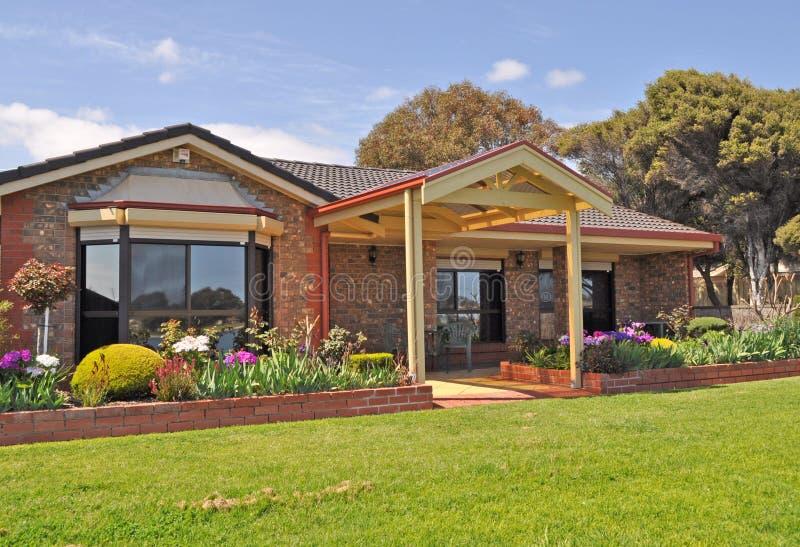 Australisch familiehuis, stock foto's