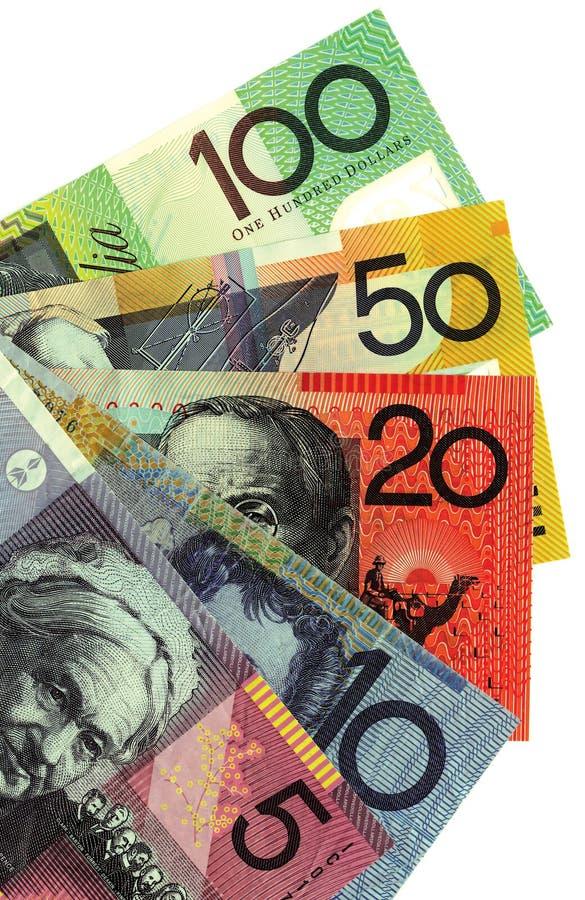Download Australisch geld stock afbeelding. Afbeelding bestaande uit vijf - 16860821