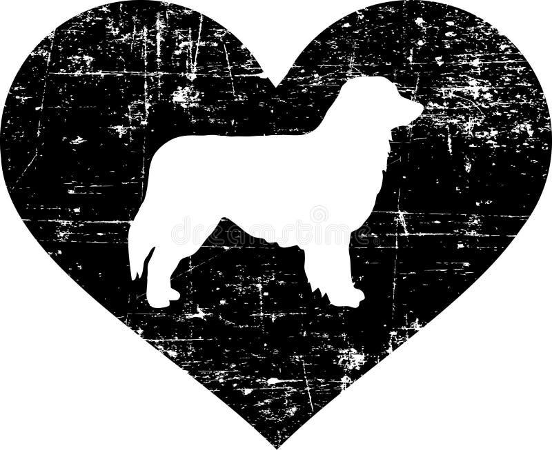 Australisch Herdershart royalty-vrije illustratie