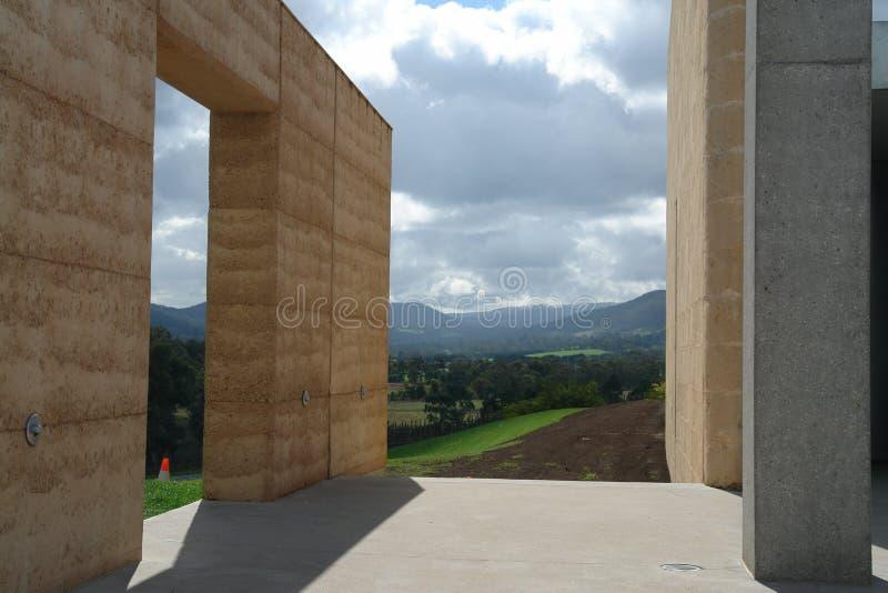 Australisch landschap en architectuur royalty-vrije stock foto's