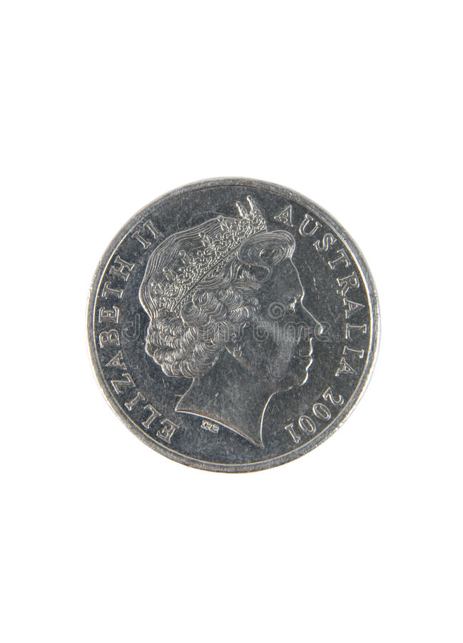 Australisch muntstuk royalty-vrije stock afbeeldingen