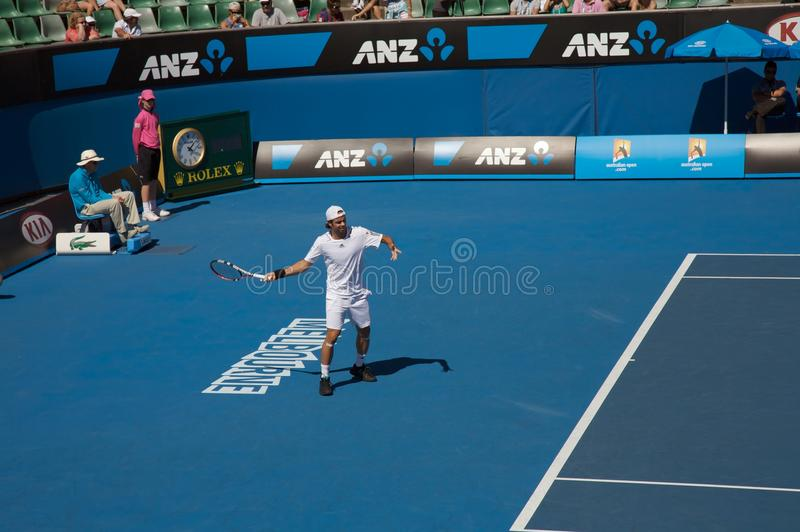 Australisch Open Tennis, Fernando Gonzalez stock foto