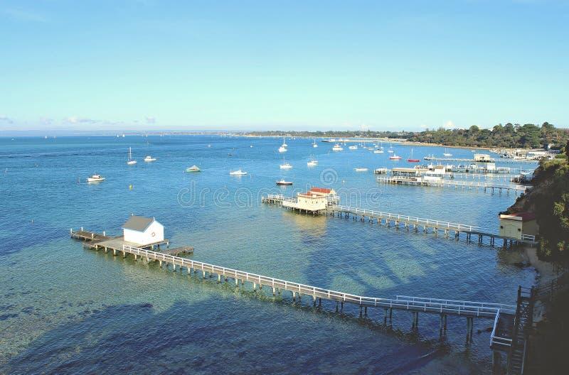 Australisch overzees landschap royalty-vrije stock afbeeldingen