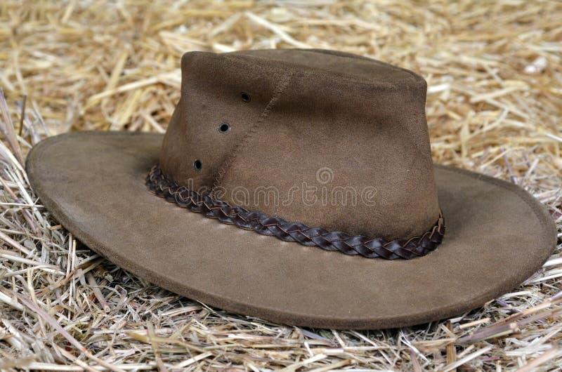 Australische hoed royalty-vrije stock afbeeldingen