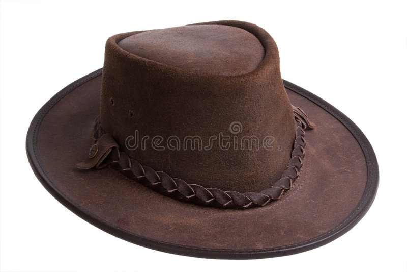 Australische hoed royalty-vrije stock foto