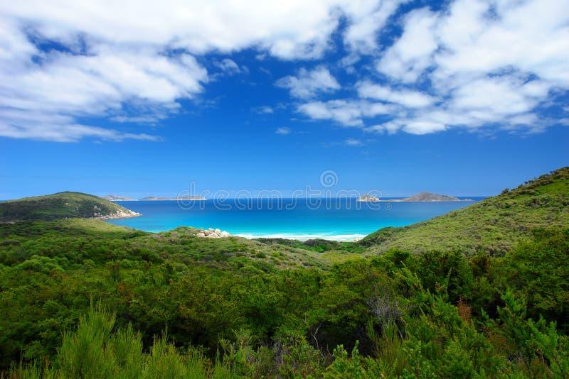 Australische Küstenlinie lizenzfreie stockbilder
