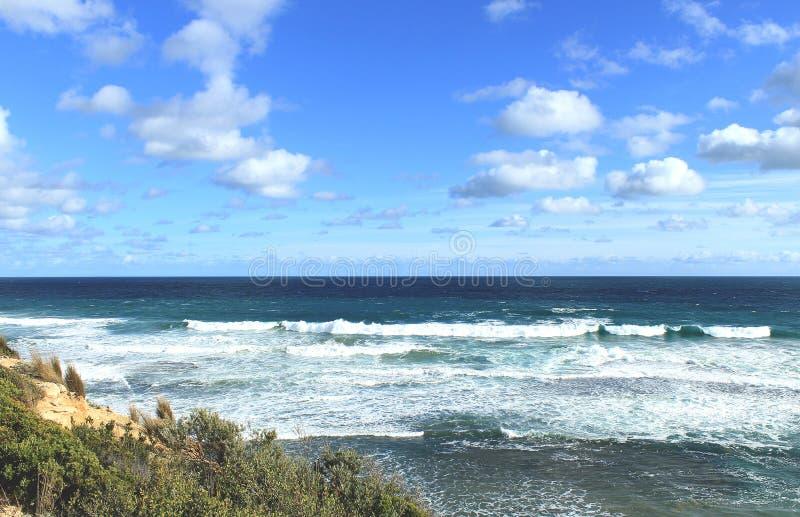 Australische Ozeanlandschaft stockfoto