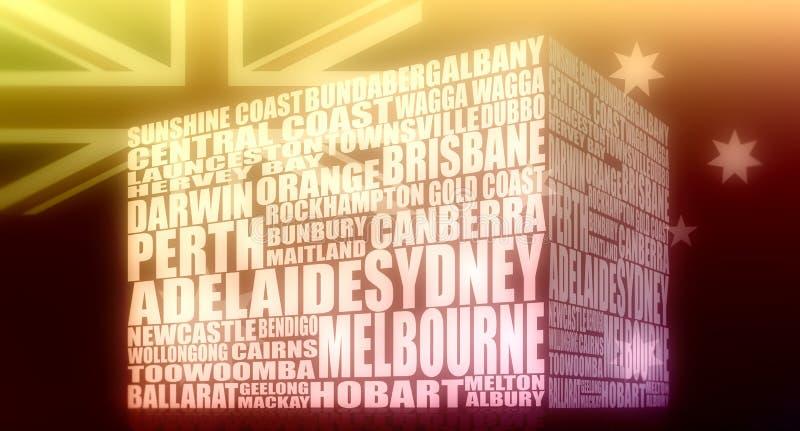 Australische stedenlijst
