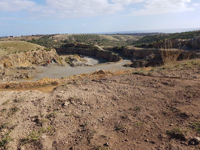 Australische steengroeve stock foto's