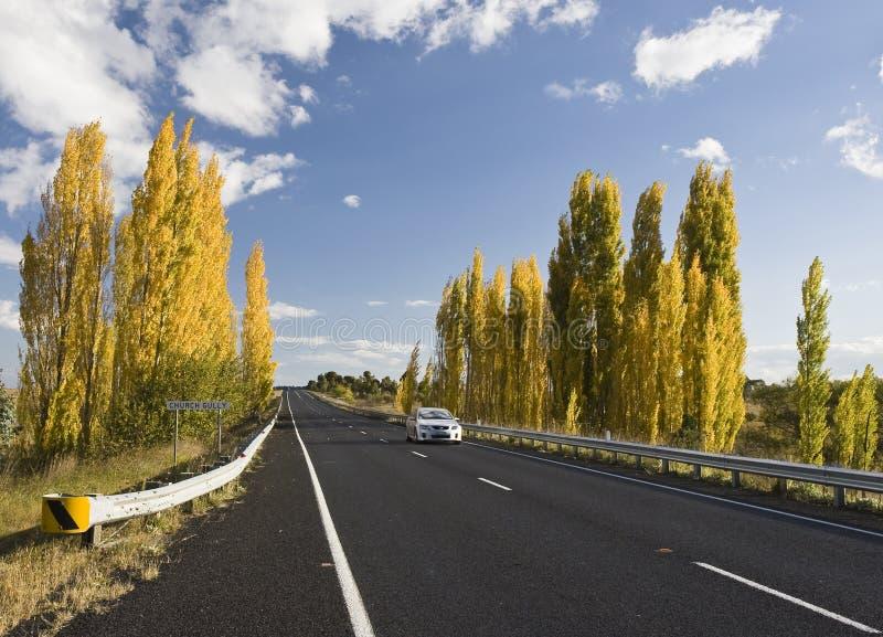 Australische Straßen stockfotos