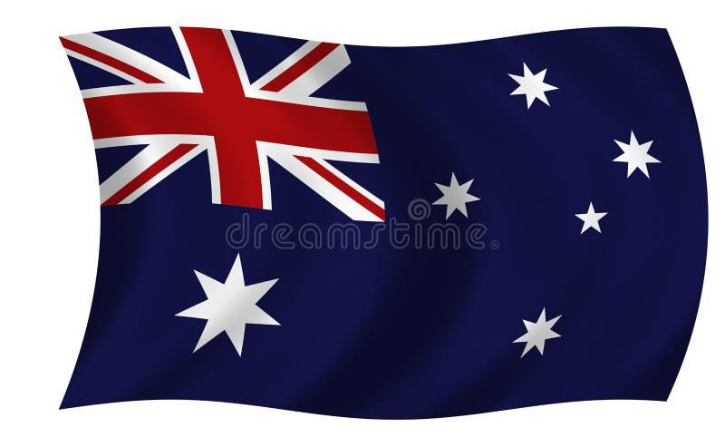 Australische Vlag vector illustratie