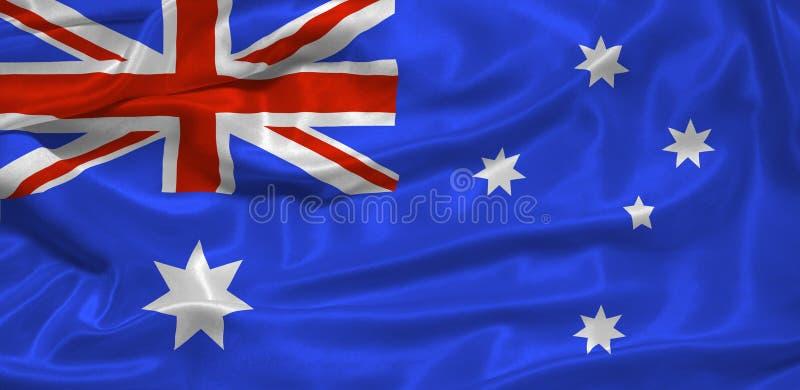 Australische Vlag   royalty-vrije stock afbeeldingen