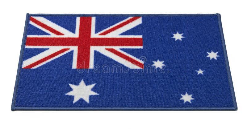 Australische Vlag Welkome Mat royalty-vrije stock foto