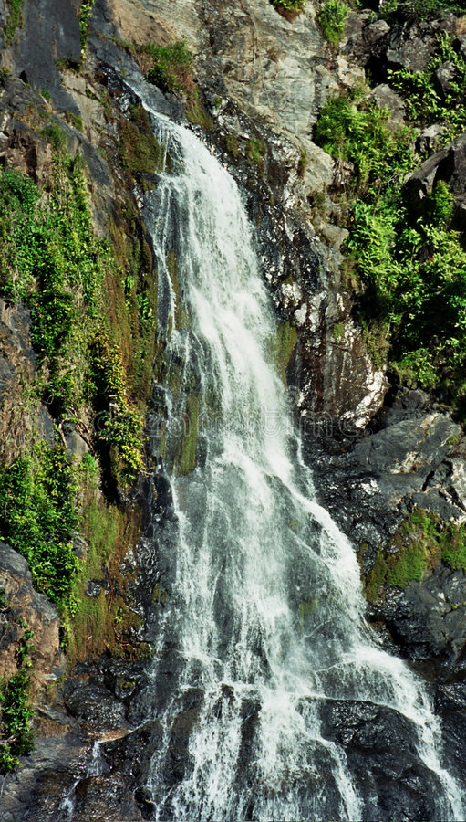 Australische waterval stock foto