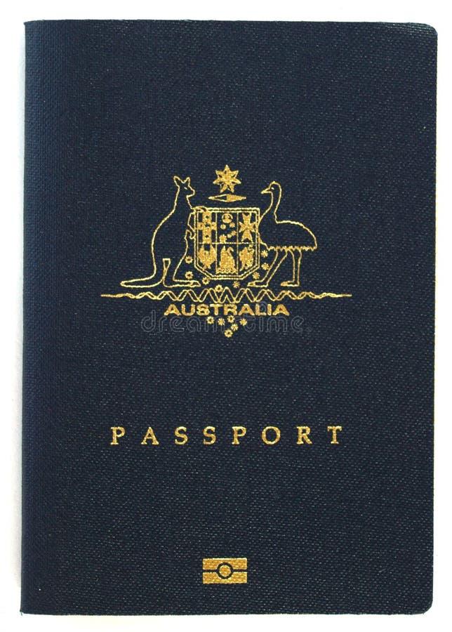 Australischer Paß lizenzfreie stockbilder